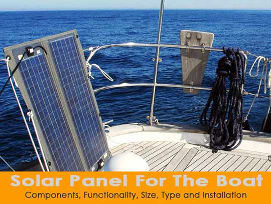 Solar Battery Charger 12 volt marine