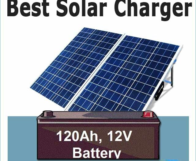 Solar to charge battery