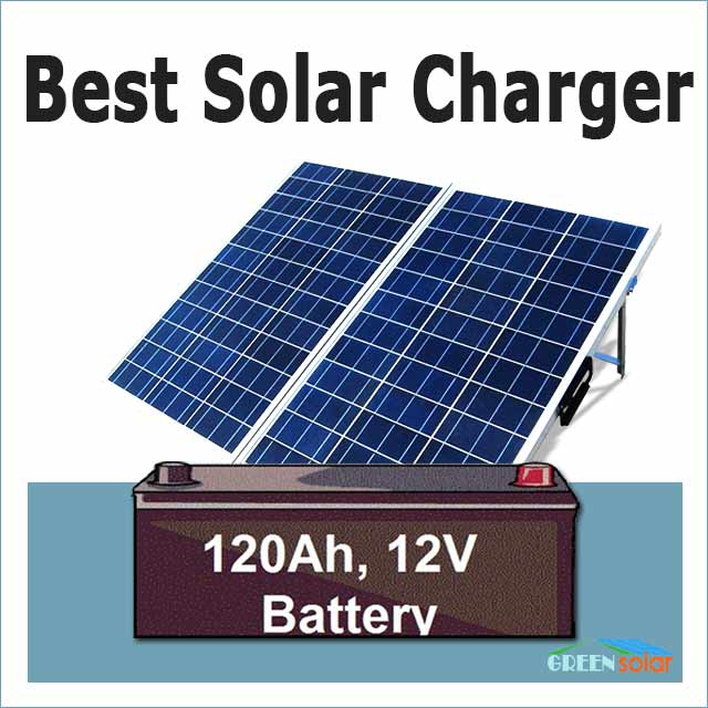 Charge 12v Battery with Solar Panel: Best Efficient Solar To Battery Charger Review
