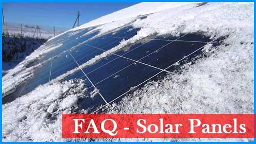 Solar Panels Frequently Asked Questions