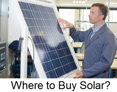 Where to buy solar panel