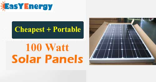 Best Rated 100 Watt Solar Panel Review